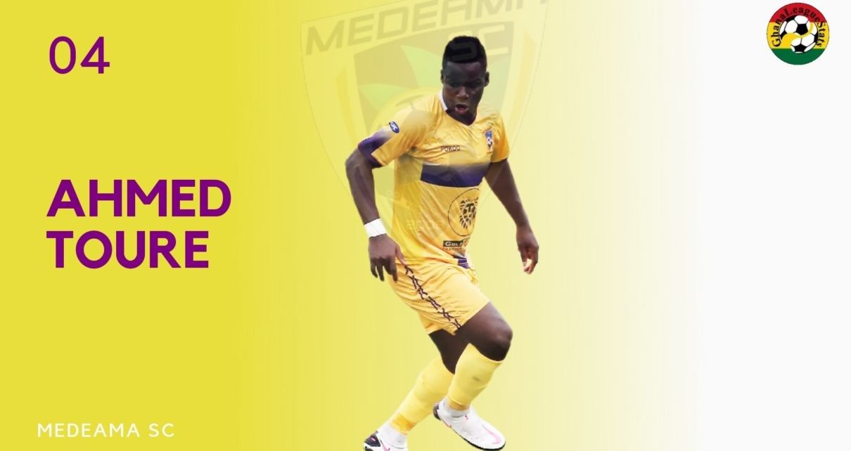 Medeama star Amed Toure bags 4 goals in 4 matches