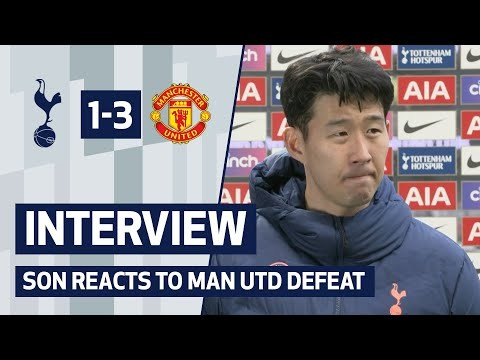 """I'm really disappointed this afternoon"" 