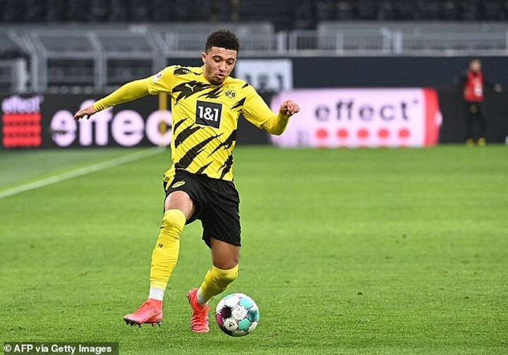 Jadon Sancho returns to Dortmund training after month-long muscle injury