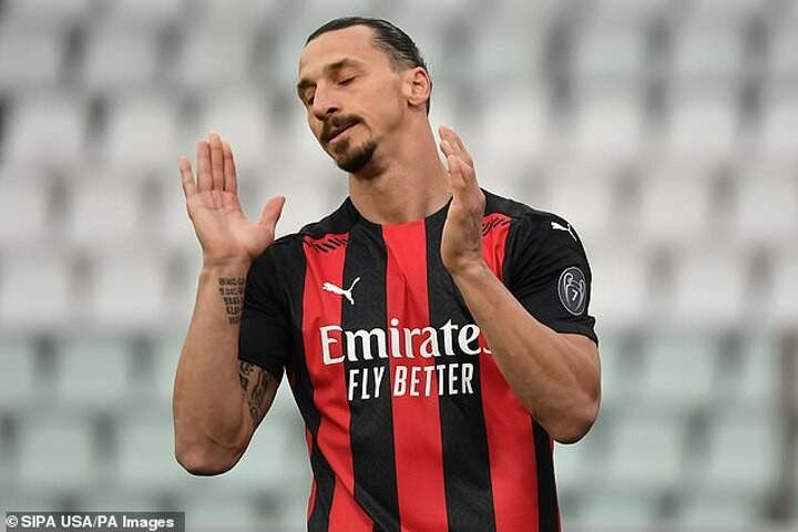 Zlatan Ibrahimovic in hot water after images emerge of alleged Covid breach