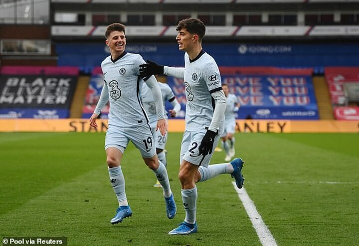 Mason Mount excited by his role in Chelsea front three with Kai Havertz and Christian Pulisic