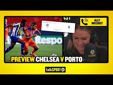PREVIEW CHELSEA V FC PORTO! Ally McCoist reveals he's bet on Chelsea to win the Champions League!