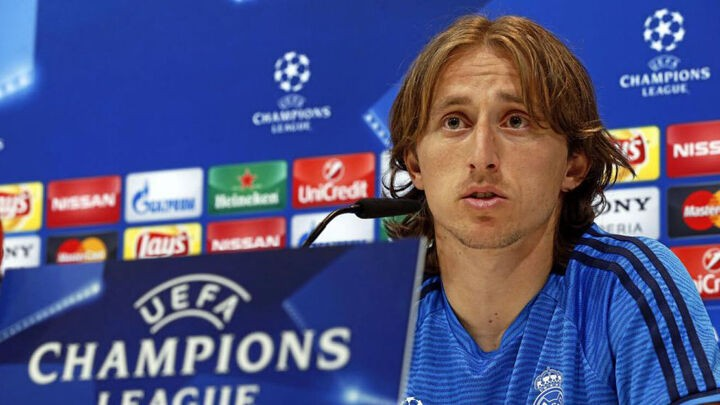 Modric: I'd prefer to play at a full Anfield
