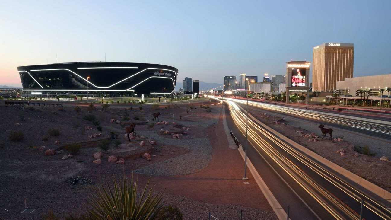 Gold Cup final set at Raiders' site in Las Vegas