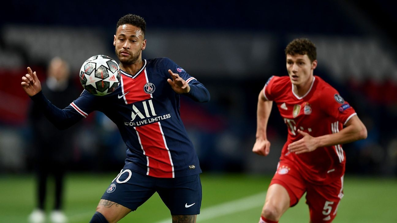 PSG hold off Bayern to reach Champions League semis
