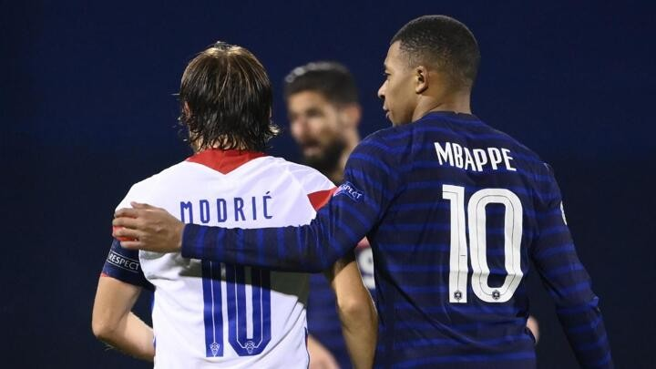 Modric hails Mbappé: Great players are always welcome at Madrid
