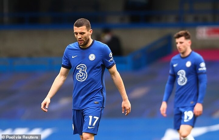 Mateo Kovacic ruled out of Chelsea's FA Cup semi-final against Manchester City with hamstring injury