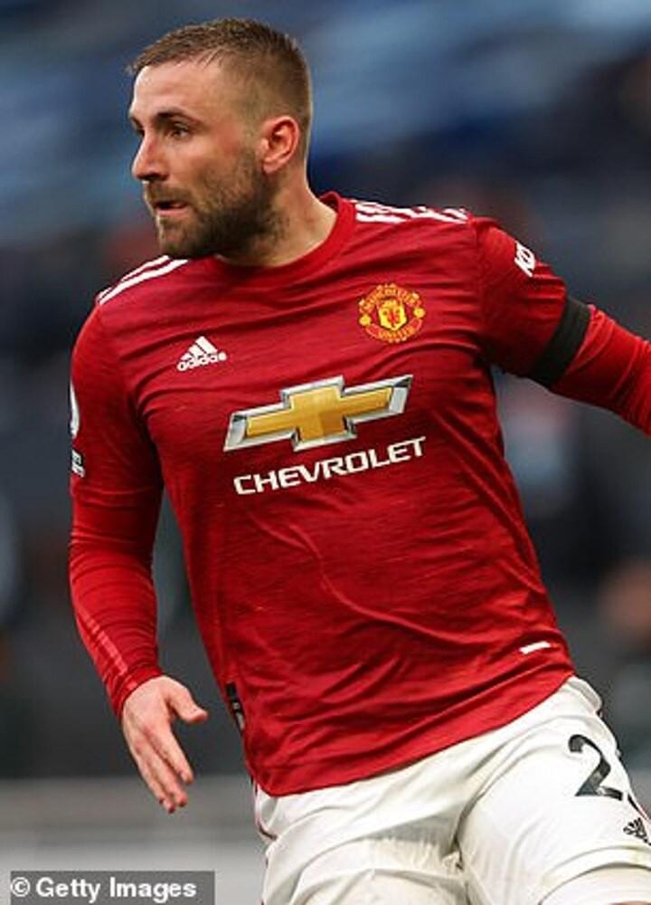 Manchester United left back Luke Shaw laughs off his 'Shawberto Carlos' nickname