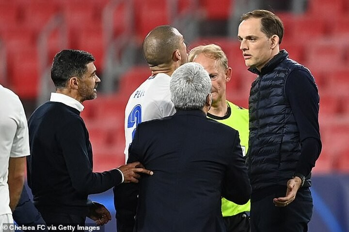 """Tuchel 'told Porto boss Conceicao to """"f*** off"""" after Champions league tie"""