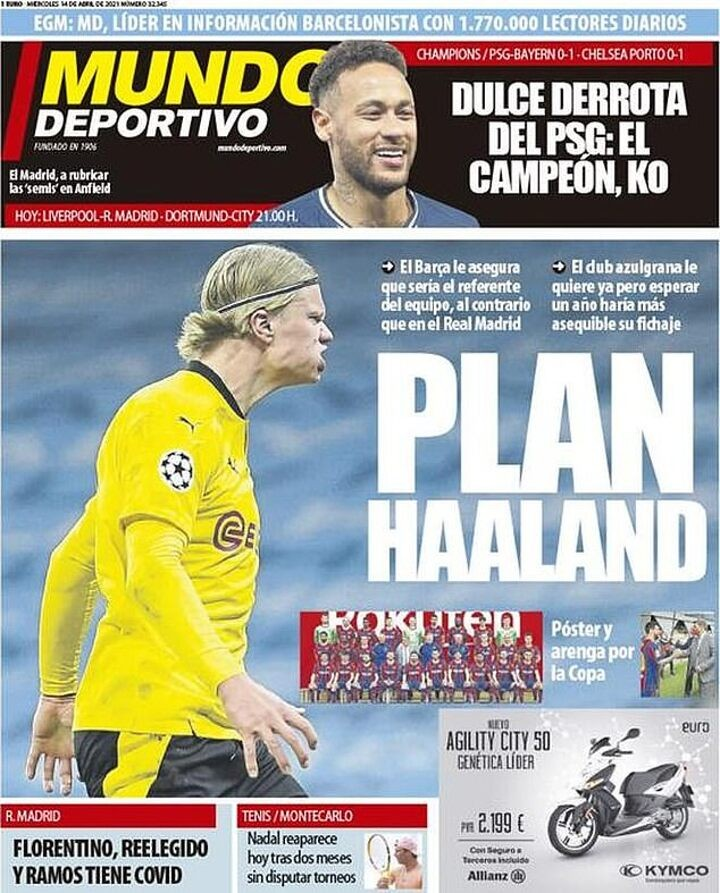 Barcelona 'want to sign Erling Haaland with assurances that he'll be their main man'