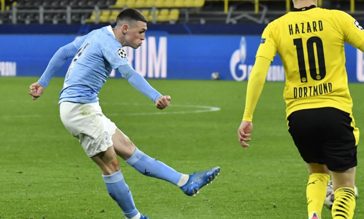 Dortmund 1-2 Man City (2-4 agg): Citizens book place in UCL final 4, Foden nets