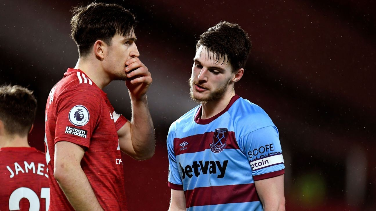 Transfer Talk: West Ham's Rice asks England teammates about Man United move