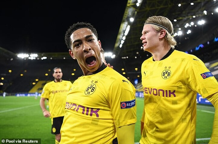 Jude Bellingham showed he has the LOT in Borussia Dortmund's defeat by Man City