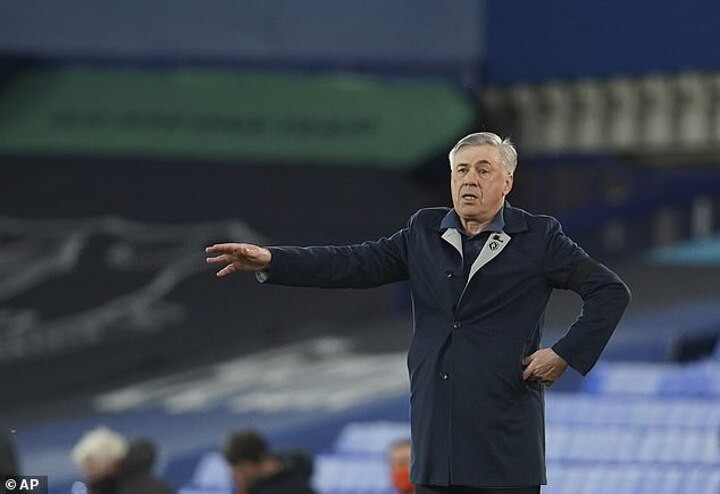Carlo Ancelotti insists Everton have not given up on European ambitions despite Tottenham draw