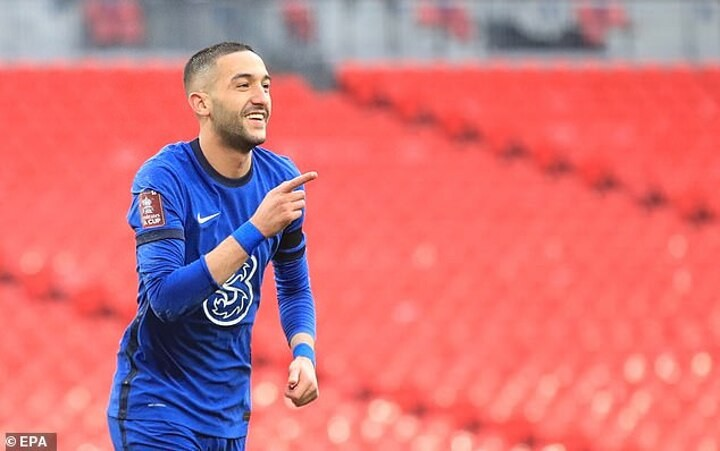 Thomas Tuchel hails semi-final hero Hakim Ziyech for forcing his way back into Chelsea plans
