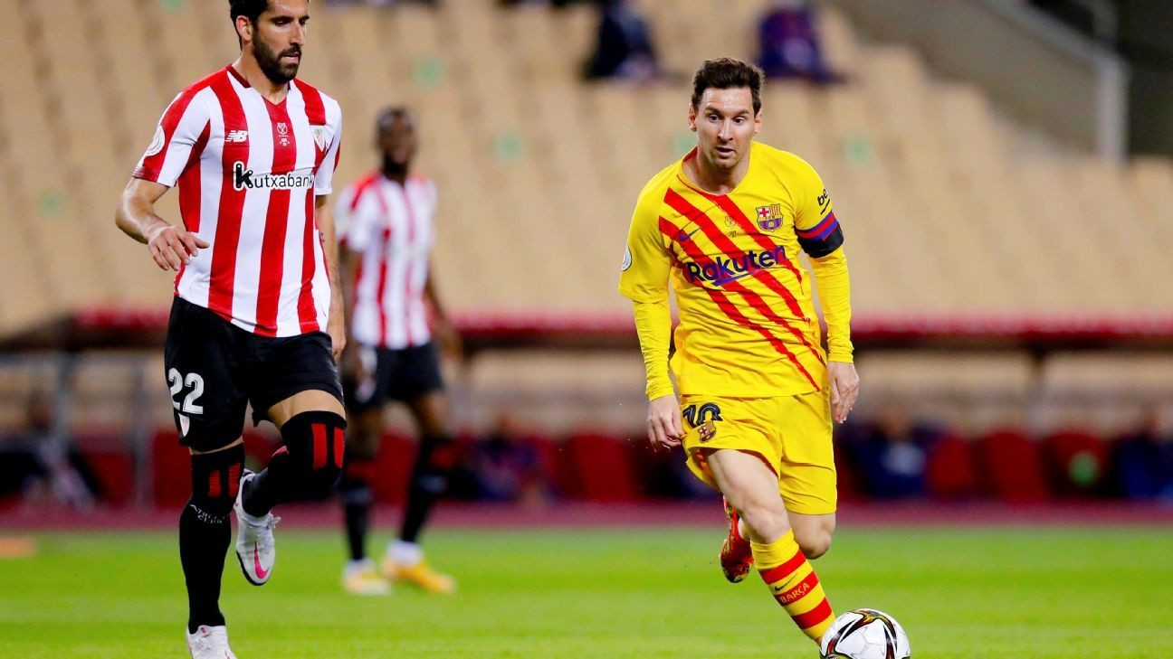 Messi: Rebuilt Barca 'deserved some happiness'