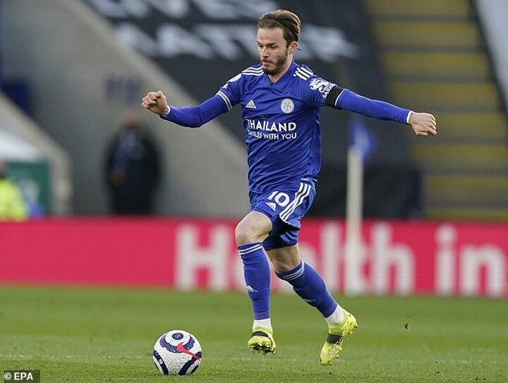 DANNY MURPHY: James Maddison has killed off his hopes of making the England squad for the Euros