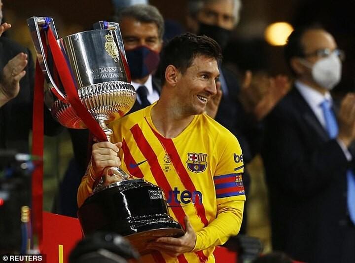 Messi praises Barca next generation after 'extra special' Copa del Rey triumph