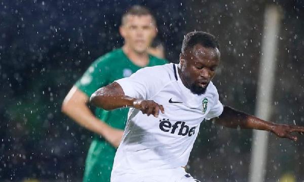 Ghana forward Bernard Tekpetey handed one match suspension and a fine of 1000 Bulgarian lev