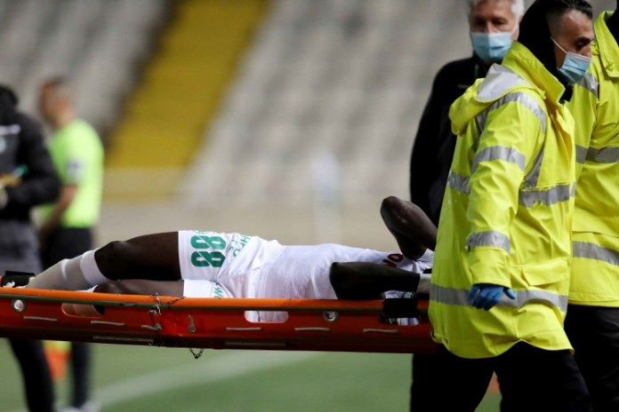 AC Omonia winger Ernest Asante suffers horrible injury, ruled out between 6-8 months