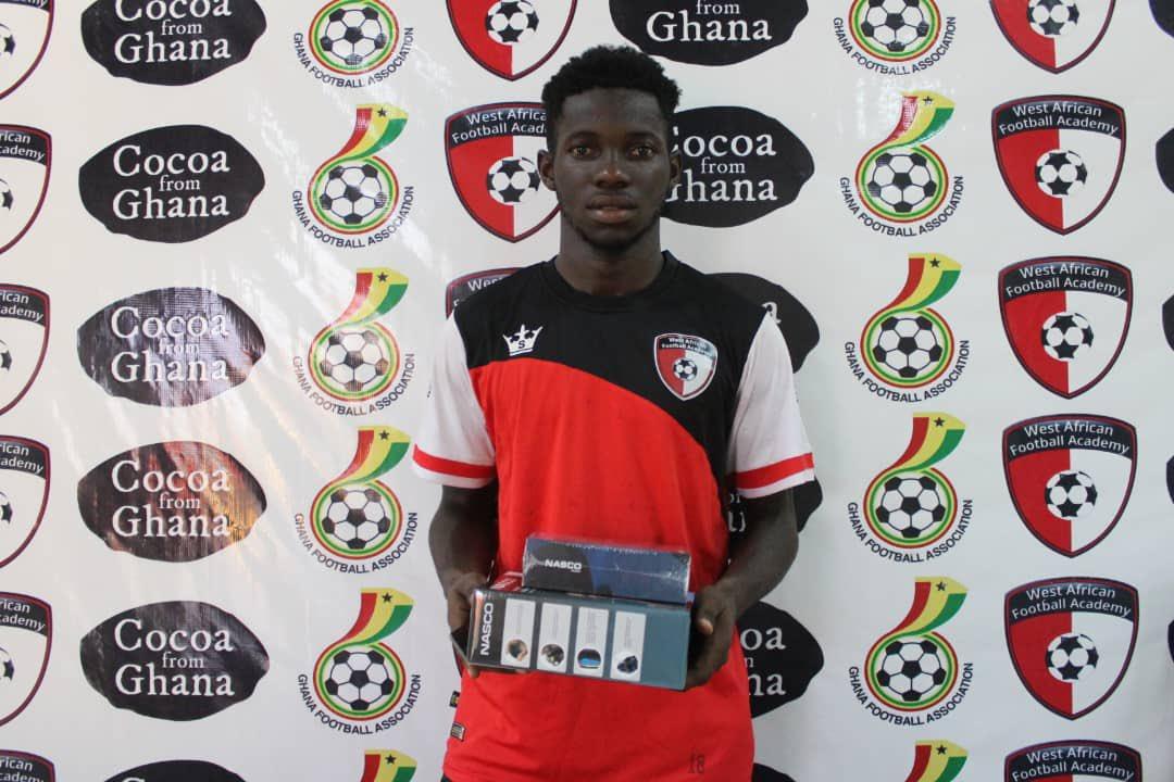 2020/21 Ghana Premier League: WAFA star Augustine Boakye wins MOTM in Bechem victory