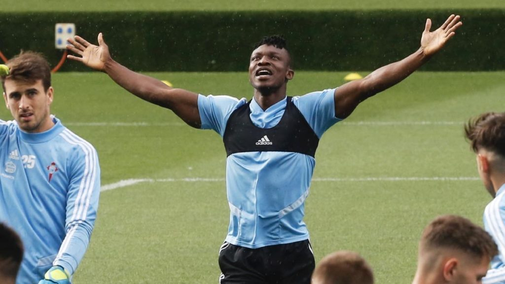 Bayern Munich manager Hansi Flick reacts to Joseph Aidoo's desire to play for the German giants