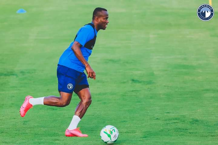 Ghanaian striker John Antwi to get special lessons from Pyramids head coach for dip in form