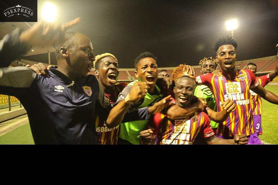 VIDEO: Watch highlights of Hearts of Oak's 2-0 win over Aduana Stars
