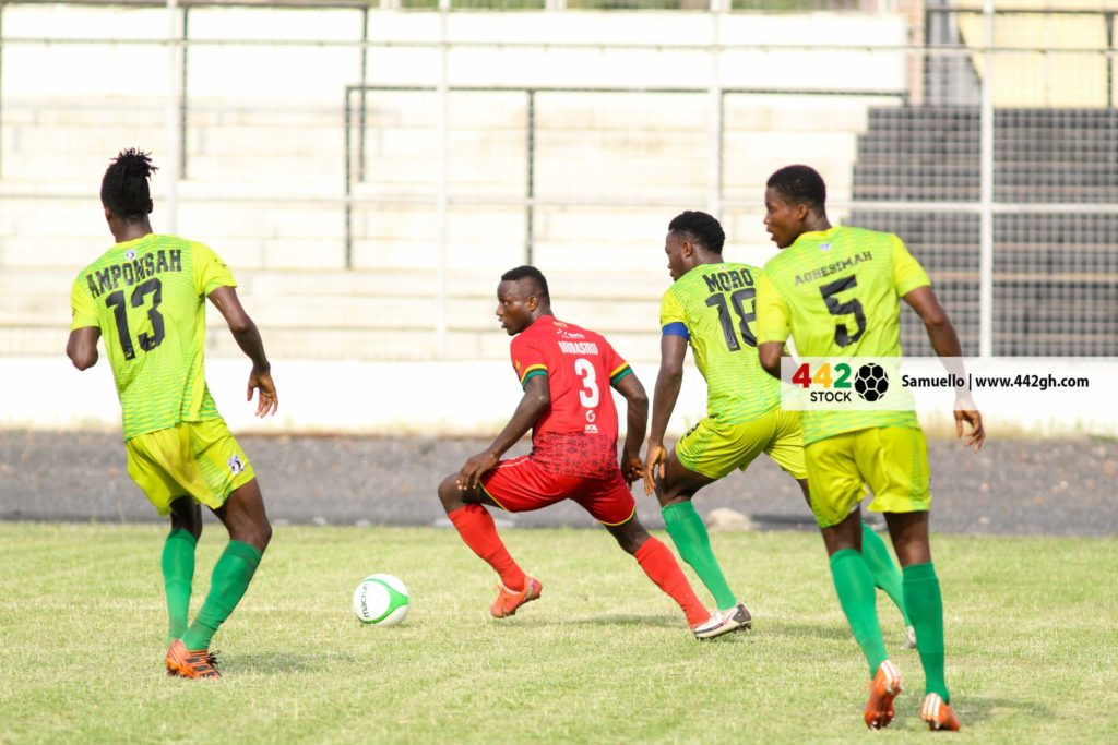 They all flopped- Bechem United coach Kassim Mingle blast players after Kotoko defeat
