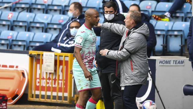 Swansea manager Steve Cooper lavish praises on Andre Ayew after Millwall victory