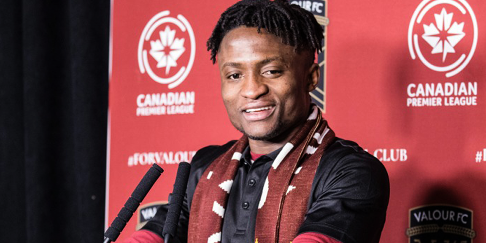 From Ghana to Valour FC: Raphael Ohin's long road to Canadian permanent residency
