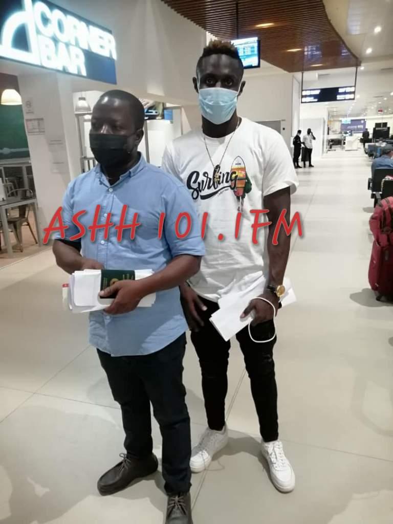 Ex-Asante Kotoko striker Kwame Opoku flies out to Algeria to start USM Alger career