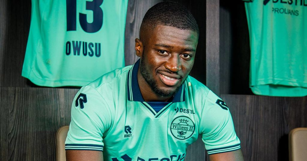 Willem II star Leeroy Owusu living the dream of his father in the Dutch Eredivisie