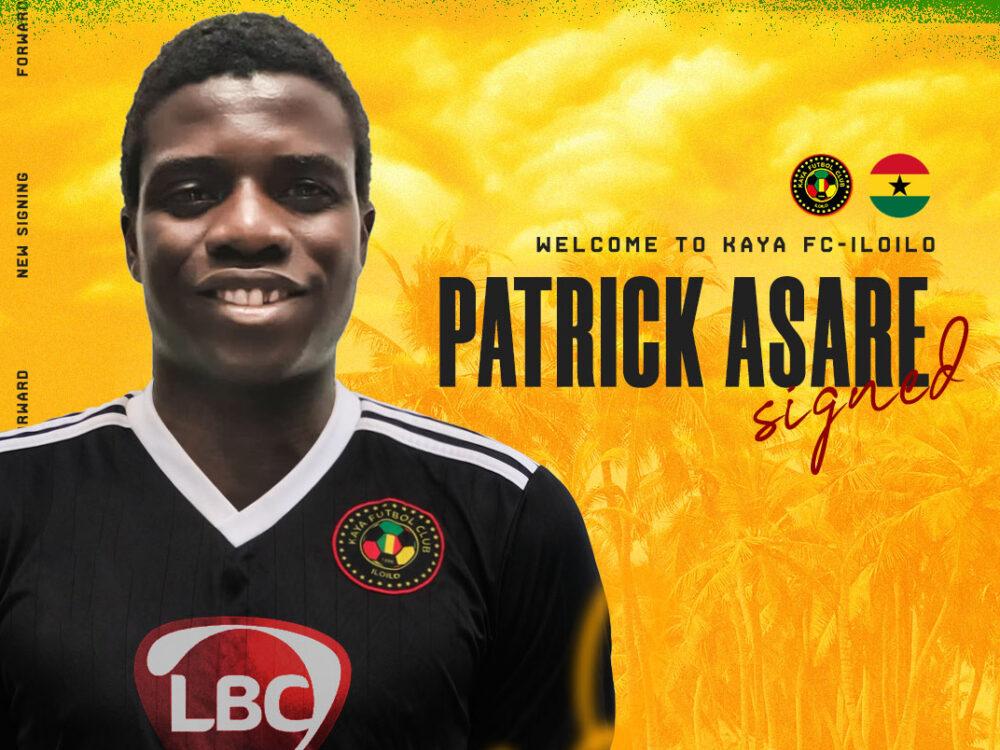 Philippines giants Kaya FC signs Ghanaian forward Patrick Asare
