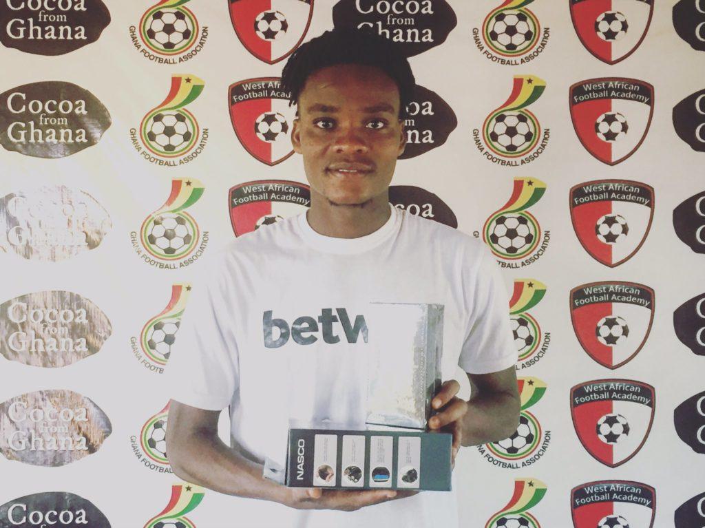 2020/21 Ghana Premier League:Liberty defender Razak Simpson named MOTM against Elmina Sharks