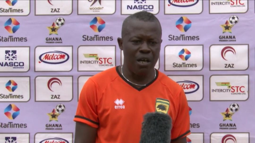 Stop-gap Kotoko coach Johnson Smith after Eleven Wonders draw: 'The pitch affected us'