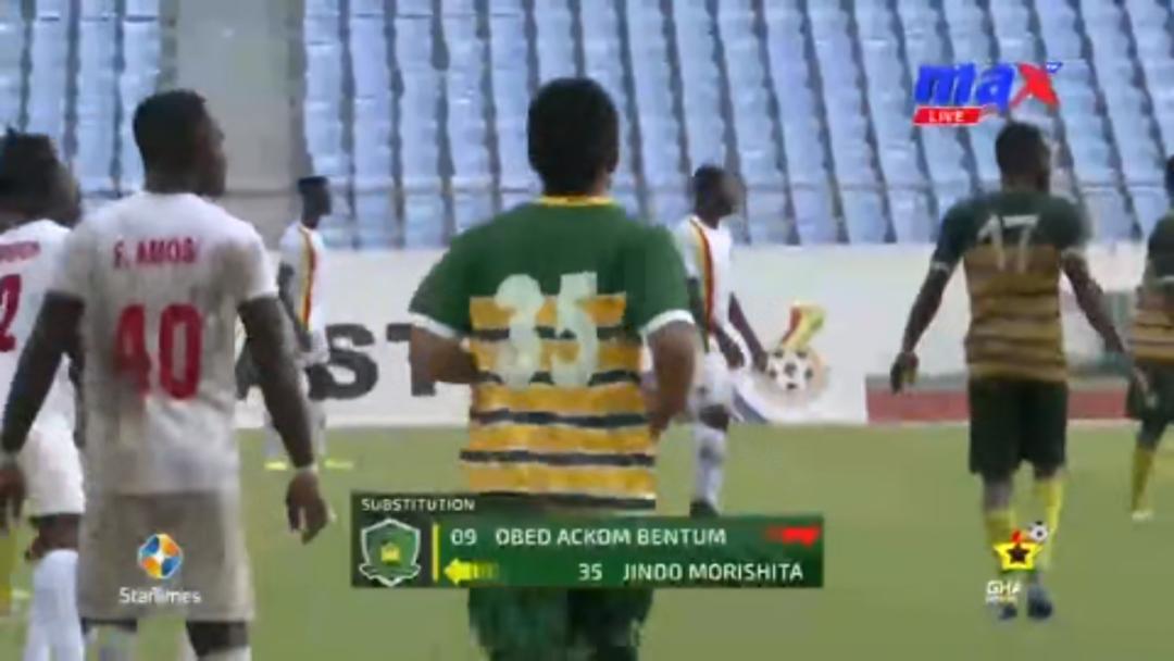 Jindo Morishita: Japanese striker marks Ebusua Dwarfs debut in Ghana Premier League clash