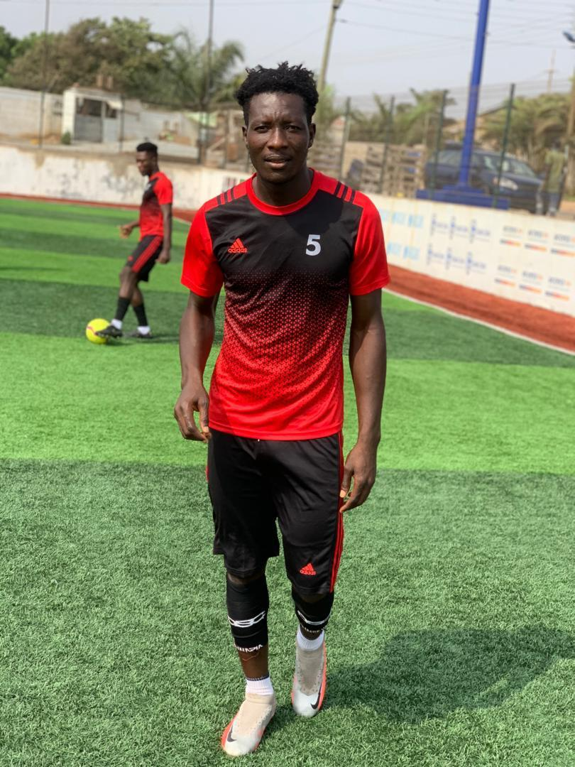 I'm excited to see fans compare me to Fabio Gama and Gladson Awako - Mohammed Ayabah
