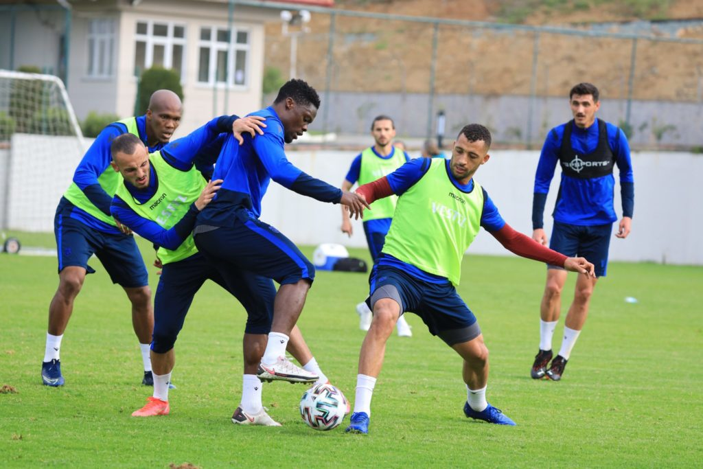 Trabzonspor receive good news as Ghana forward Caleb Ekuban returns to training