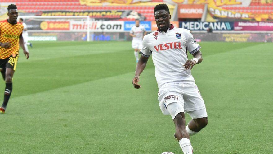 VIDEO: Watch Caleb Ekuban's 10th goal of the season for Trabzonspor against Goztepe