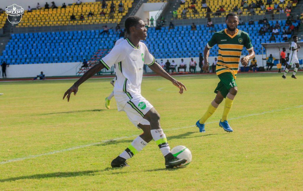2020/21 Ghana Premier League: Week 25 Match Report - Ebusua Dwarfs 1-1 Dreams FC