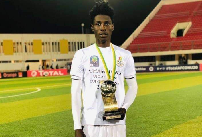 Ghana youth defender Frank Assinki is ready for the big stage, dreams of a Black Stars call-up