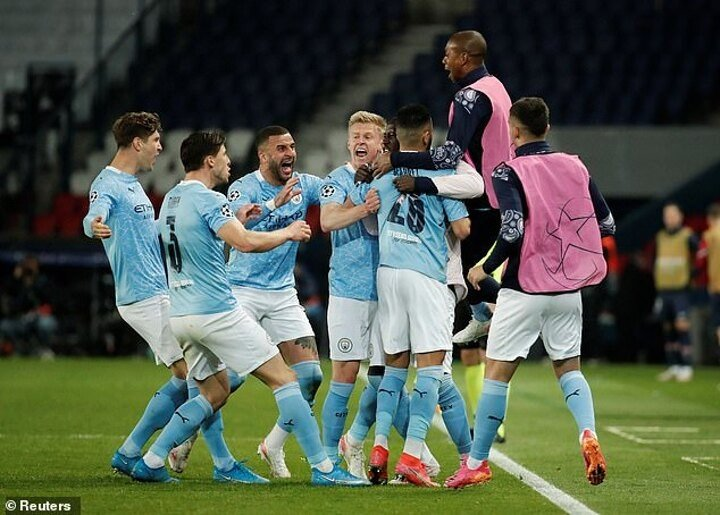 Man City's Champions League omen as they prepare for second leg against PSG