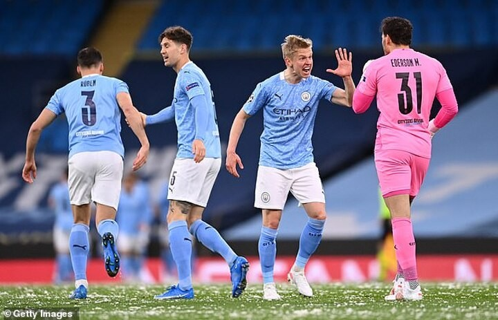 Ederson hailed by fans after his lofted pass helped set up Riyad Mahrez's opener