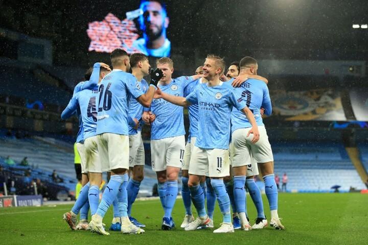 Man City 2-0 PSG (4-1 agg): Mahrez's brace sends Sky Blues through to UCL final