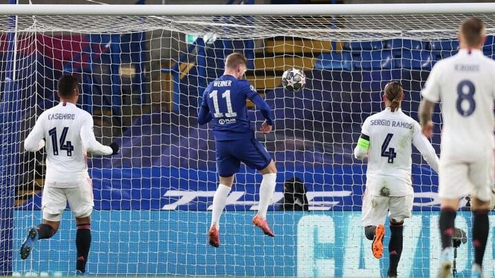 Chelsea's Werner timed out Real Madrid's Champions League