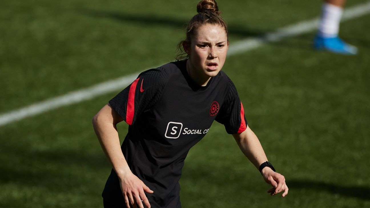 Thorns teen files age-limits suit against NWSL