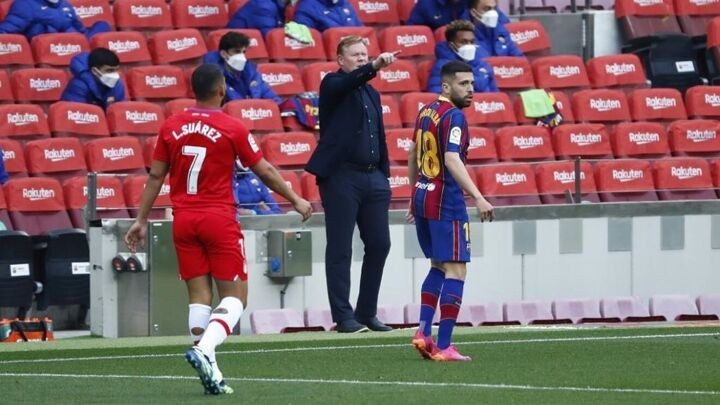 Koeman will not be in the dugout against Atletico Madrid