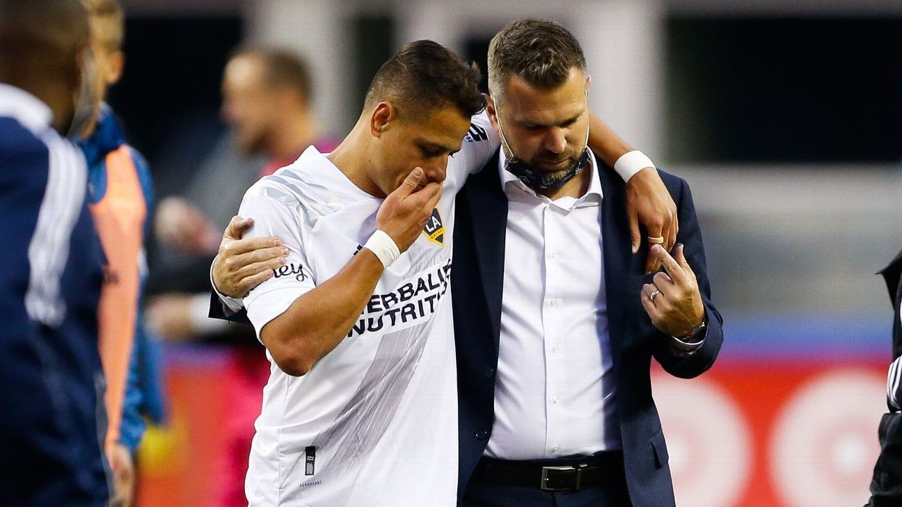 Chicharito, Vanney have LA Galaxy on track after years of struggle