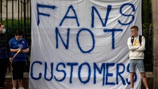 Uefa sanctions for nine clubs over ESL